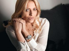 Christa Rigozzi Former Miss Switzerland new ambassador Balmain سفیر جدید برند بالمن بانوی شایسته سوئیس