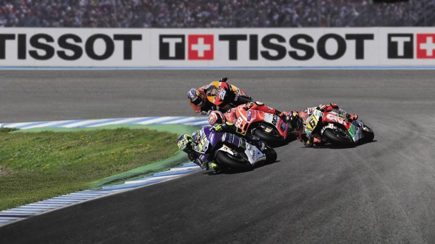 تیسوت و مسابقات موتو جی پی  زمانسنج رسمی مسابقات موتو جی پی شرکت بازرگانی کیش بهین نمایندگی رسمی ساعت های سوئیسی TISSOT T-RACE MotoGP 2016 QUARTZ CHRONOGRAPH